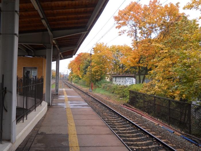 Oliwa Train station
